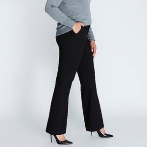 Lane Bryant Black Classic Trouser Pants